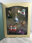 New Disney Alice In Wonderland Story Book Christmas Ornaments Holiday