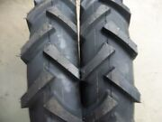 Four Tires 2 11.2x24 And 2 7x14 R1 Bar Lug Tractor Tires W/tubes