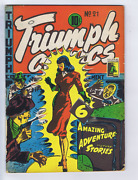 Triumph Comics 21 Bell Features Canadian Edition Nelvana Cover