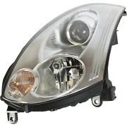 Headlight For 2006-2007 Infiniti G35 Coupe Left Hid With Bulb And Ballast