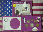 2007 Australia Baby Coin Set The Magic Pudding With Unique One Dollar Coin -bino