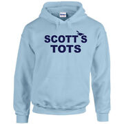 674 Scotts Tots Hoodie Funny Tv Show Michael Costume Office Party New