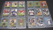 Lot Of 24 Bowmans Best Football Cards 2006 Chrome Rookie Cards Good Condition
