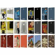 Official Star Trek Iconic Characters Tos Leather Book Case For Samsung Tablets