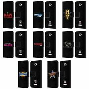 Official Wwe The Shows Leather Book Wallet Case For Sony Phones 2