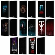 Official Wwe Undertaker Leather Book Wallet Case Cover For Fire