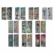 Brandalised - Banksyand039s Graffiti Coloured Drip Leather Book Case For Asus Zenfone