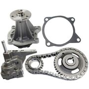 Timing Chain Kit For 94-2003 Chevrolet S10 Kit With Water Pump Oil Pump