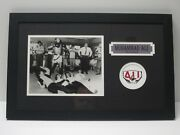 Muhammad Ali Signed Autographed 8x10 Photo W/ The Beatles Matted Framed Jsa Loa
