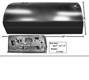 Chevy,chevrolet Monte Carlo Door Shell Driver Side Left 1986-1988