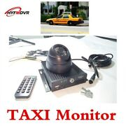 Taxi Camera With Monitor And Trouble Lights