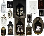 Christmas Led Lanterns Lamp Xmas Party Home Decorations Candles Battery Operated