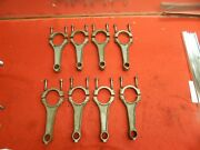 Set Of 8 Used Ford C6ae-e Le Mans Style Connecting Rods C9zz-6200-a 427 428 Scj