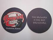 Cool Beer Coaster Little Apple Brewing Co Manhattan, Kansas Opened In 1995