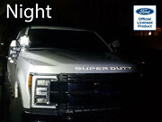 2018 Ford Super Duty Reflective Grille Letters Vinyl Decals F-250 F-350 F-450