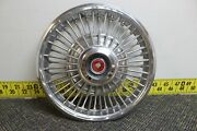 Oem Ford 14 Wire Spoke W Emblem Hub Cap Wheel Cover C8gy1130b 1968 Comet 145