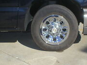Escalade 6 Lug 17 Chrome Wheel Skins See The Before And After Picture