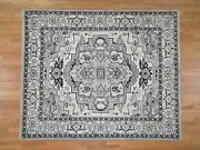 8and0391x9and0399 Hand-knotted Peshawar With Heris Design Oriental Rug R43543