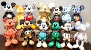 Mickey Mouse Memories Complete Plush Collection 13 Jan Thru Dec Gold Large New