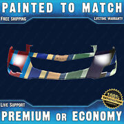 New Painted To Match Front Bumper Cover Replacement For 2009-2012 Chevy Traverse