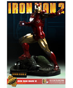 Marvel Iron Man Mark Vi Maquette Statue Exclusive By Sideshow Used Jc