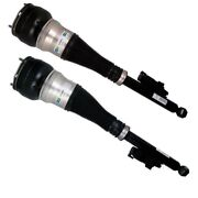 Pair Set 2 Rear Bilstein B4 Air Suspension Spring For Mercedes W222 S550 14-16