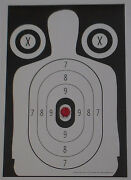 Exploding B-34 Style Pistol-rifle Silhouette Shooting Targets - 14x20 - 20 Qty.