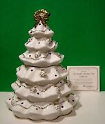 Lenox The Jeweled Christmas Tree Cookie Jar Jewels New In Box With Coa