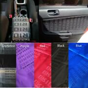 Jdm Bride Fabric Cloth For Auto Car Seat Cover Door Panel Armrest Decoration New