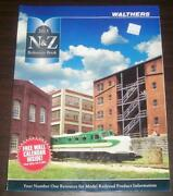 Walthers 2013 N And Z Model Railroad Reference Color Photos Buildings Figures Tree