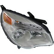 Headlight For 2010-2015 Chevrolet Equinox Right Reflector Type With Bulb Capa