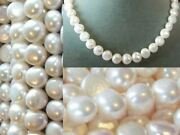 Snow White 12x11 To 9x9.5mm Fw Pearls 16 Inch Strand 3137