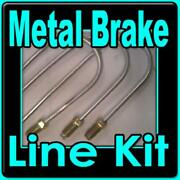 Complete Metal Brake Line Kit Chev S10 Gmc S15 82 To 98 -replace Rusted Lines