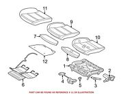 For Bmw Genuine Seat Cover Front Left 52107232272