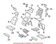 For Bmw Genuine Seat Cover Front Right 52107292845
