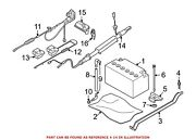 For Bmw Genuine Battery Cable Terminal End 61129297285