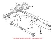 For Bmw Genuine Cv Axle Assembly Rear Left 33207630183