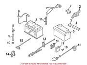 For Bmw Genuine Battery Cable Terminal End 61128387512