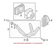 For Bmw Genuine Abs Hydraulic Assembly 34516880560