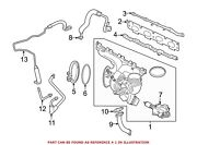 For Bmw Genuine Exhaust Manifold 11658626637