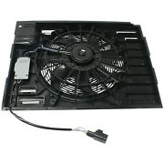 A/c Condenser Cooling Fan For 02-08 7 Series Mounts Behind Grille