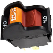 Hqrp On-off Toggle Switch For Delta Power Tool Planer Band Saw Grinder 489105-00