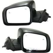 New Set Of 2 Mirrors Driver And Passenger Side Heated Ch1320415 Ch1321415 Pair