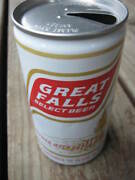 Vintage Used Great Falls Select Beer Aluminum Can Empty Beer Can