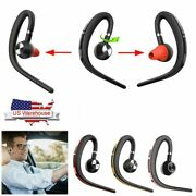 Noise Cancelling Wireless Bluetooth Earpiece Headset Headphones For Cell Phone