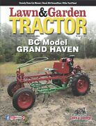 Lawn And Garden Tractor Magazine Antique Lawn Tractors March/april 2021
