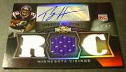 2009 Threads Percy Harvin Auto Jersey Rookie 16/30