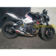Exhaust Complete Mass Oval Titan Mv Agusta Brutal 1078 Approved Made In Italy