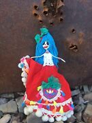 Day Of The Dead Paper Mache Skeleton Doll