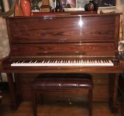 Piano Practically New Schafer And Sons